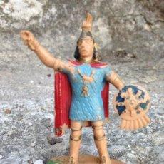 Figuras de Goma y PVC: SOLDADO ANTIGUO PLÁSTICO AÑOS 60/70. Lote 292575418