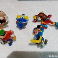 Figuras Kinder: KINDER O SIMILAR 5 DISNEY MUÑECOS ANIMALES VARIADAS PLASTICO GOMA. Lote 293320123