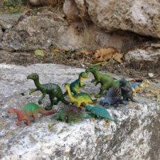 Figuras de Goma y PVC: FIGURAS DE DINOSAURIOS ANTIGUAS PLÁSTICO.. Lote 293328713