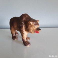 Figuras de Goma y PVC: OSO DE CAVERNA, ANIMALES PREHISTÓRICOS / DINOSAURIOS, STARLUX (FRANCE) ESTILO JECSAN O LAFREDO.. Lote 293441273