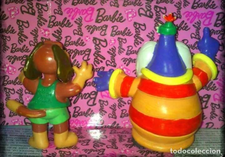 Figuras de Goma y PVC: LOTE DE 2 FIGURAS PVC DE LA SERIE DELFY Y SUS AMIGOS DE COMICS SPAIN - 1992 - Foto 2 - 60789063