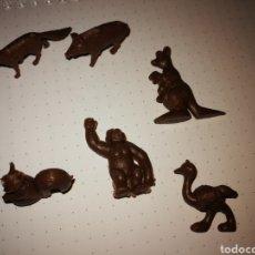 Figuras de Borracha e PVC: FIGURAS DUNKIN COLOR CHOCOLATE. Lote 293618498
