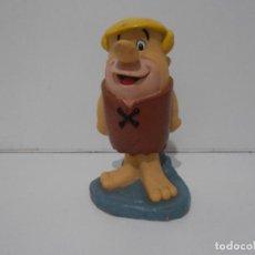 Figuras de Goma y PVC: HUCHA PABLO MARMOL 1994, LOS PICAPIEDRA, COMPRADA EN ARGENTINA, MUY RARA, ROTURA TRASERA. Lote 293723453