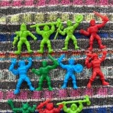 Figuras de Borracha e PVC: FIGURAS PVC DUNKIN MASTERS DO UNIVERSO HE MAN. Lote 293763163