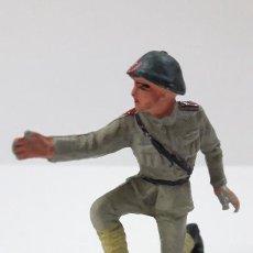 Figuras de Goma y PVC: ARTILLERO RUSO - TIRADOR DE CAÑON . REALIZADO POR PECH . ORIGINAL AÑOS 60. Lote 293896913