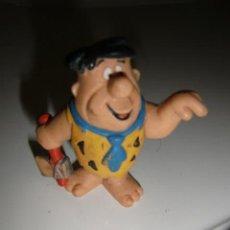 Figuras de Goma y PVC: THE FLINTSTONES LOS PICAPIEDRA PEDRO FIGURA DE PVC HANNA BARBERA BULLY GERMANY 1983. Lote 293898023