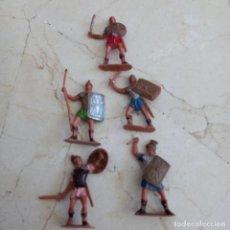 Figuras de Goma y PVC: LOTE DE 5 SOLDADOS ROMANOS REAMSA.. Lote 293913713