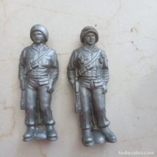 Figuras de Goma y PVC: SOLDADOS DE PLÁSTICO BLANDO.2 GUERRA MUNDIAL.11CM. Lote 293914843