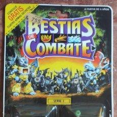 Figuras de Goma y PVC: BESTIAS DE COMBATE: ELEPHANT / FROG; ELEFANTE Y RANA. EN PERFECTO ESTADO. BATTLE BEASTS HASBRO 1986. Lote 293921218