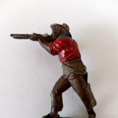 Figuras de Goma y PVC: FIGURA VAQUERO LAFREDO GOMA. Lote 293958883