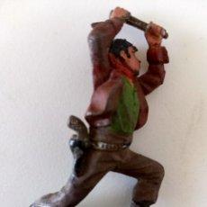Figuras de Goma y PVC: FIGURA VAQUERO REAMSA GOMA. Lote 293959193