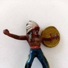 Figuras de Goma y PVC: FIGURAS INDIO REAMSA GOMA. Lote 293959588