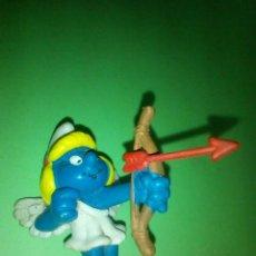 Figuras de Goma y PVC: FIGURA PITUFO PITUFINA SCHLEICH. Lote 294020643