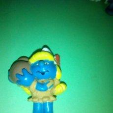 Figuras de Goma y PVC: FIGURA PITUFO PITUFINA SCHLEICH. Lote 294020698