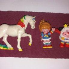 Figuras de Goma y PVC: TRIO FIGURAS RAIMBOW,(DIFÍCIL ). Lote 294081123