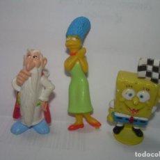 Figuras de Goma y PVC: TRES FIGURAS. Lote 294365618