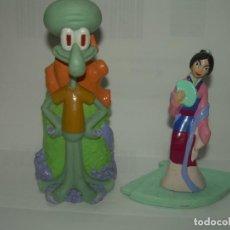 Figuras de Goma y PVC: DOS FIGURAS. Lote 294365773