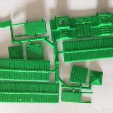 Figuras de Goma y PVC: MONTAPLEX 1 COLADA DEL FORT NEVADA - COLOR MADERA - KIOSKO AÑOS 80´S. Lote 294432923