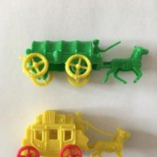 Figuras de Goma y PVC: MONTAPLEX - LOTE CARAVANA Y DILIGENCIA. Lote 294433273