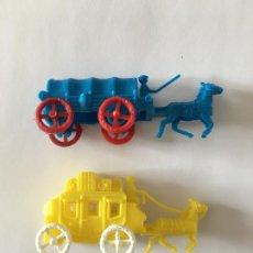 Figuras de Goma y PVC: MONTAPLEX - LOTE CARAVANA Y DILIGENCIA. Lote 294433468