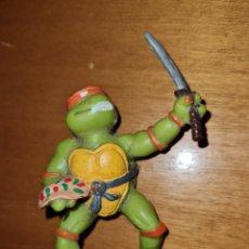 Figuras de Goma y PVC: FIGURA PVC GOMA TORTUGAS NINJA YOLANDA 1988 MUÑECO COLECCIÓN DIBUJOS ANIMADOS. Lote 294502198