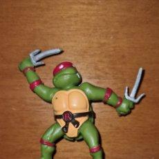 Figuras de Goma y PVC: FIGURA PVC GOMA TORTUGAS NINJA YOLANDA 1988 MUÑECO COLECCIÓN DIBUJOS ANIMADOS. Lote 294502303