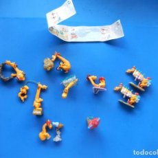 Figuras Kinder: PEQUEÑAS FIGURAS HUEVOS DE KINDER SORPRESA. SUPER JIRAFAS. SIN MÁS DATOS.. Lote 294867943