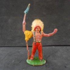Figuras de Goma y PVC: REAMSA INDIO GOMA REF 20. Lote 294974238