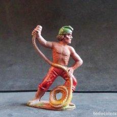 Figuras de Goma y PVC: REAMSA PIRATA GOMA. Lote 294974318
