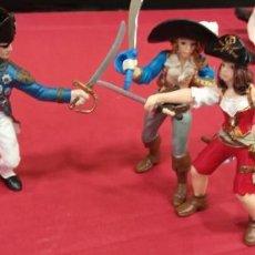 Figuras de Goma y PVC: LOTE DE FIGURAS DE PIRATAS. Lote 295269143