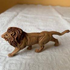 Figuras de Goma y PVC: LEON DE GOMA DE SOTORRES AÑOS 50. Lote 295288423