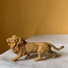 Figuras de Goma y PVC: LEON DE GOMA PECH AÑOS 50. Lote 295336603