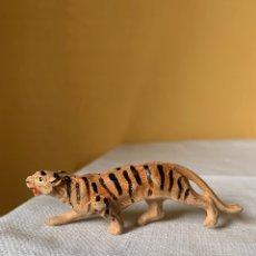 Figuras de Goma y PVC: TIGRE DE GOMA PECH AÑOS 50. Lote 295337853