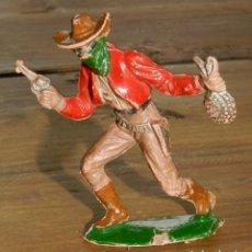 Figuras de Goma y PVC: FIGURA DE REAMSA, SERIE ASALTO A LA DILIGENCIA, MIDE 6,5 CMS.. Lote 295438448