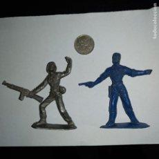 Figuras de Goma y PVC: FIGURAS NUMERADAS SOLDADOS AMERICANOS Y CUBANO.. Lote 295471833