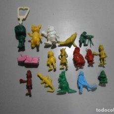 Figuras de Goma y PVC: LOTE DE FIGURAS DUNKIN SOLDADOS BRUGUERA POWER Y MAS. Lote 295510628