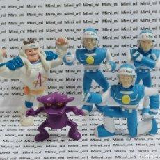 Figuras de Goma y PVC: LOTE 5 FIGURAS PVC ACTIMEL DANONINO MUÑECOS PROMOCIONALES. Lote 295546173