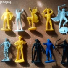Figuras de Goma y PVC: SUPER PAWERS, SUPERAMIGOS 54MM 10 FIGURAS, SUPERMAN, BATMAN PEPSI BRASIL,LOTE. Lote 295549358