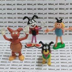 Figuras de Goma y PVC: LOTE 4 FIGURAS PVC HORMIGA FERDI DIBUJOS ANIMADOS AÑOS 80 90 SCHLEICH. Lote 295628463