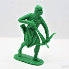 Figuras de Goma y PVC: ANTIGUA FIGURA EN PLÁSTICO. SERIE CRUZADOS DE JECSAN. AÑOS 70. Lote 295723388