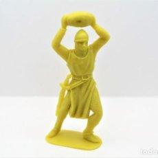 Figuras de Goma y PVC: ANTIGUA FIGURA EN PLÁSTICO. SERIE CRUZADOS DE JECSAN. AÑOS 70. Lote 295723468