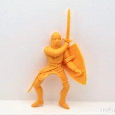 Figuras de Goma y PVC: ANTIGUA FIGURA EN PLÁSTICO. SERIE CRUZADOS DE JECSAN. AÑOS 70. Lote 295723503