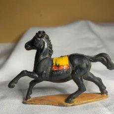 Figuras de Goma y PVC: CABALLO INDIO. MARCA GAMA AÑOS 50. Lote 295735008