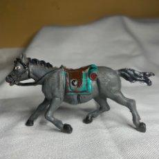Figuras de Goma y PVC: CABALLO DE TIRO PARA CARRETA. PECH AÑOS 50. Lote 295736198