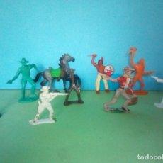 Figuras de Goma y PVC: LOTE COMANSI OESTE VAQUEROS WILD WEST. Lote 295832553