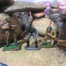 Figuras de Goma y PVC: 3 FIGURA PECH HERMANOS. Lote 295853058