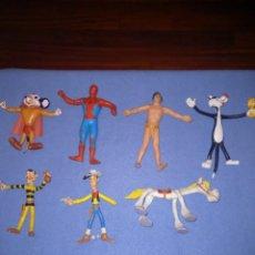 Figuras de Goma y PVC: LOTE FIGURAS COMIC SPAIN AÑOS 70/80 GRANDES. Lote 295854193