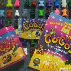 Figuras de Goma y PVC: GOGOS PRIMERA SERIE 1996 - COLECCION COMPLETA 60/60 + SOBRE VACIO + PORTAGOGOS + ÁLBUM ! CRAZY BONES. Lote 295867453