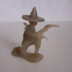 Figuras de Goma y PVC: FIGURA MEJICANO CHARRO PLASTICO MONOCROMO JECSAN,REAMSA,PECH. Lote 295920848