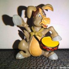 Figuras de Goma y PVC: FIGURA PVC TONTO COMICS SPAIN SERIE TV DIBUJOS LOS TROTAMUSICOS KOKI LUPO BURLON AÑOS OCHENTA 80. Lote 296013683